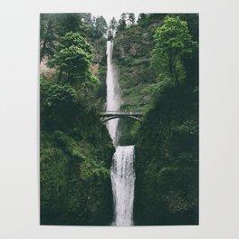 Multnomah Falls III Poster