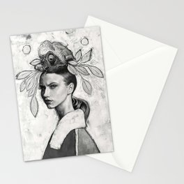 Queen Chameleon Stationery Cards
