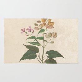 Honesty - botanical Rug