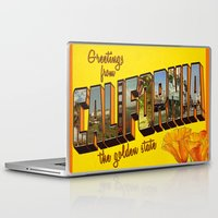 california Laptop & iPad Skins featuring California.  by JessicaSzymanski