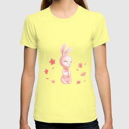 Cherry Blossom Rabbit T-shirt