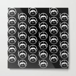 Spaceboy Logo Metal Print