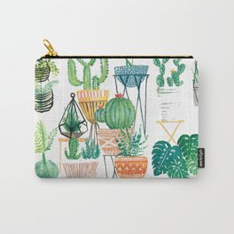 Potted Jungles Carry-All Pouch