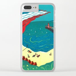Red Arrows, Bournemouth Clear iPhone Case