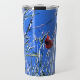 poppy flower no4 Travel Mug