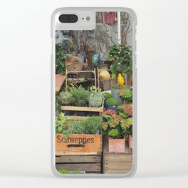 At the Florists III Clear iPhone Case