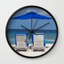 Loungers Wall Clock