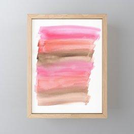 Lipstick Swatches Framed Mini Art Print