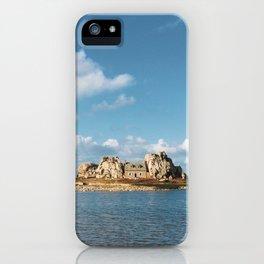 House between rocks iPhone Case