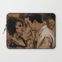 Marla & Tyler doodle Laptop Sleeve