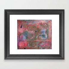 Those Eights Framed Art Print