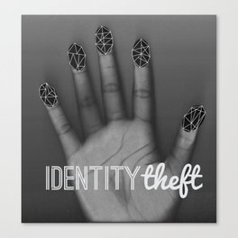 Identity Theft Canvas Print
