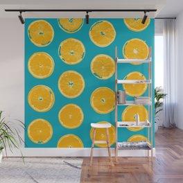Summer Lemons Wall Mural