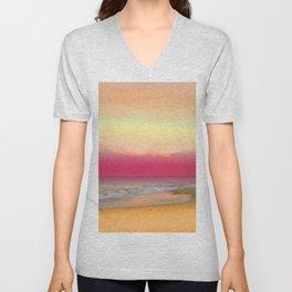 Ocean Reflections 6 Unisex V-Neck