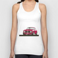 gta Tank Tops featuring Alfa Romeo Giulia Sprint 1600 GTA. by Graphic Deluxe