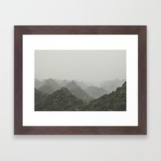 Ha Long Bay V Framed Art Print