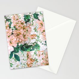 1992 Floral Stationery Cards