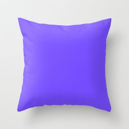 Periwinkle Orchid : Solid Color Throw Pillow