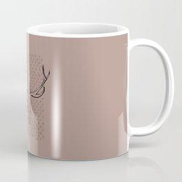Dusky Flowerskull Coffee Mug