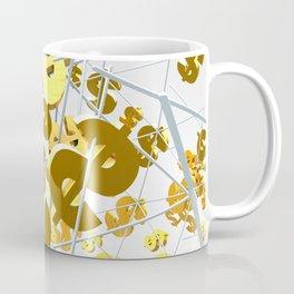 Golden dollar sign Coffee Mug