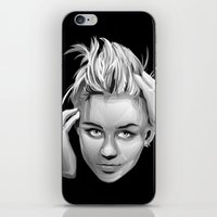 miley cyrus iPhone & iPod Skins featuring Miley Cyrus by anomaly alice