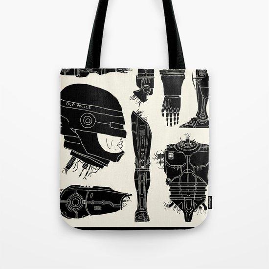 Decommissioned: Robocop Tote Bag