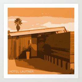 Hotel Lautner Art Print