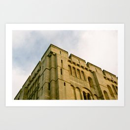 Norwich Castle Art Print