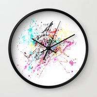 rome Wall Clocks featuring Rome by Nicksman