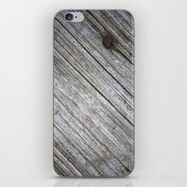 Wood iPhone Skin