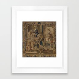 The Death of Achilles Framed Art Print