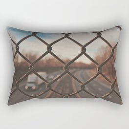 The Gated Highway Rectangular Pillow