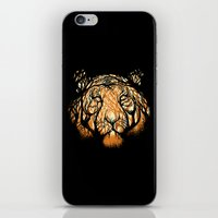 hunter iPhone & iPod Skins featuring Hidden Hunter by carbine
