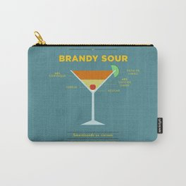Brandy Sour - Cocktail by Smart Diseños Carry-All Pouch
