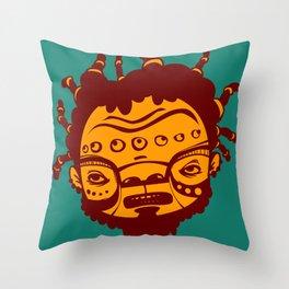 Dreadhead Throw Pillow