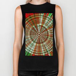 Holiday Bullseye Biker Tank