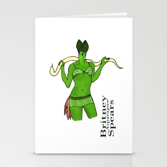 Britney Spears Stationery Cards