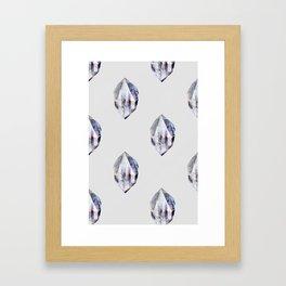 fluo (pattern) Framed Art Print