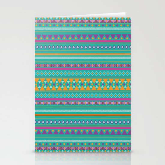 Tribal Party Stationery Cards