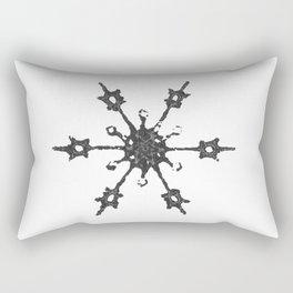 Crochet Impressions: SNOWFLAKE Rectangular Pillow