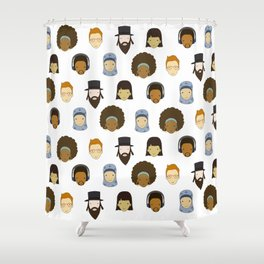 Headz Shower Curtain