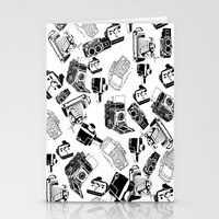 cameras Stationery Cards featuring Cameras by Cellar Door Photography