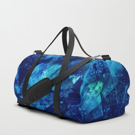 Abstract Geometric Background #23 Duffle Bag