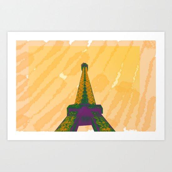 VIVE LA FRANCE Art Print