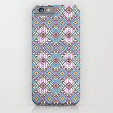 Funky Retro Pattern Slim Case iPhone 6s