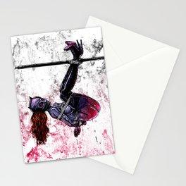 Bondage Catwoman Stationery Cards