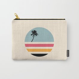 Retro Sunset 01 Carry-All Pouch