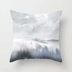 Magic in the Clouds V Throw Pillow