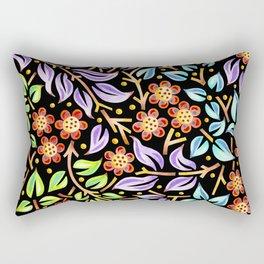 Filigree Flora Rectangular Pillow