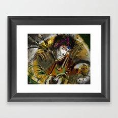 Immortal Legend ^ Martial Art Framed Art Print